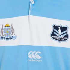 NSW State of Origin  Mens Vintage Jersey Blue S, Blue, rebel_hi-res