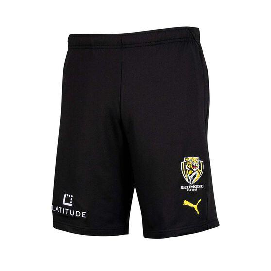 Richmond Tigers 2021 Mens Training Short, Black, rebel_hi-res