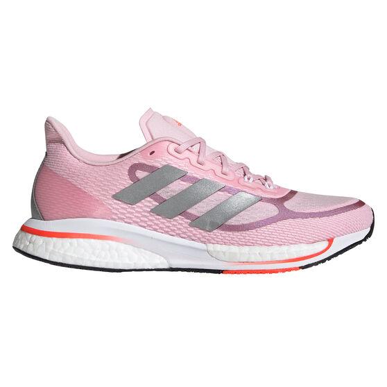 adidas Supernova+ Womens Running Shoes, Pink, rebel_hi-res