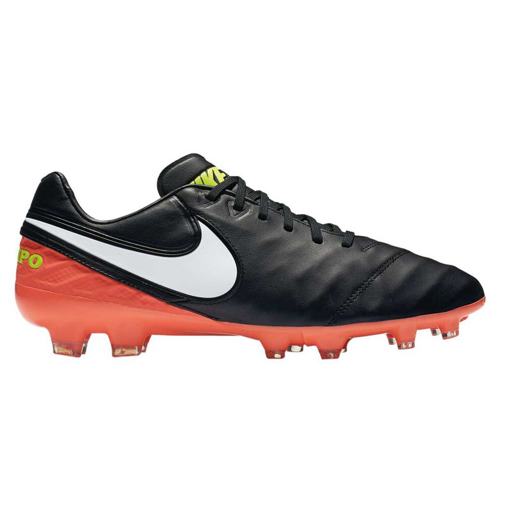 Nike Tiempo Legacy II Mens Football Boots Black   White US 7 Adult ... 2e4c01268ce08