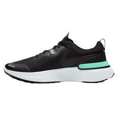 Nike React Miler Mens Running Shoes Black US 7, Black, rebel_hi-res