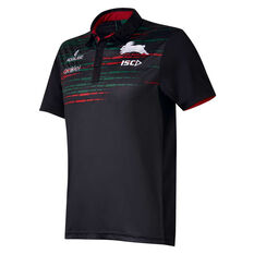 South Sydney Rabbitohs 2019 Mens Sub Polo Green / Red S, Green / Red, rebel_hi-res