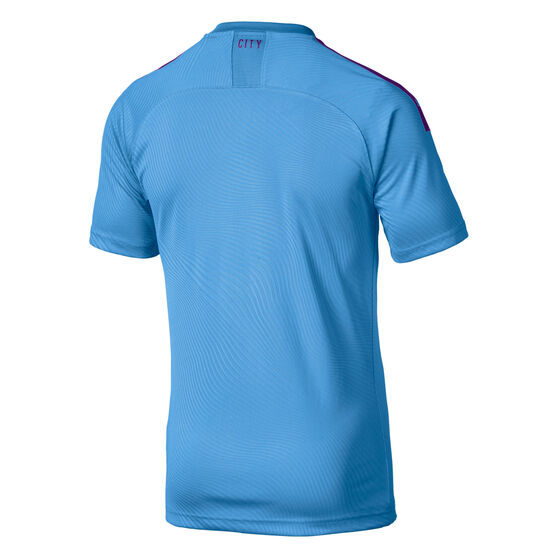 Manchester City FC 2019/20 Mens Home Jersey, Blue / Purple, rebel_hi-res