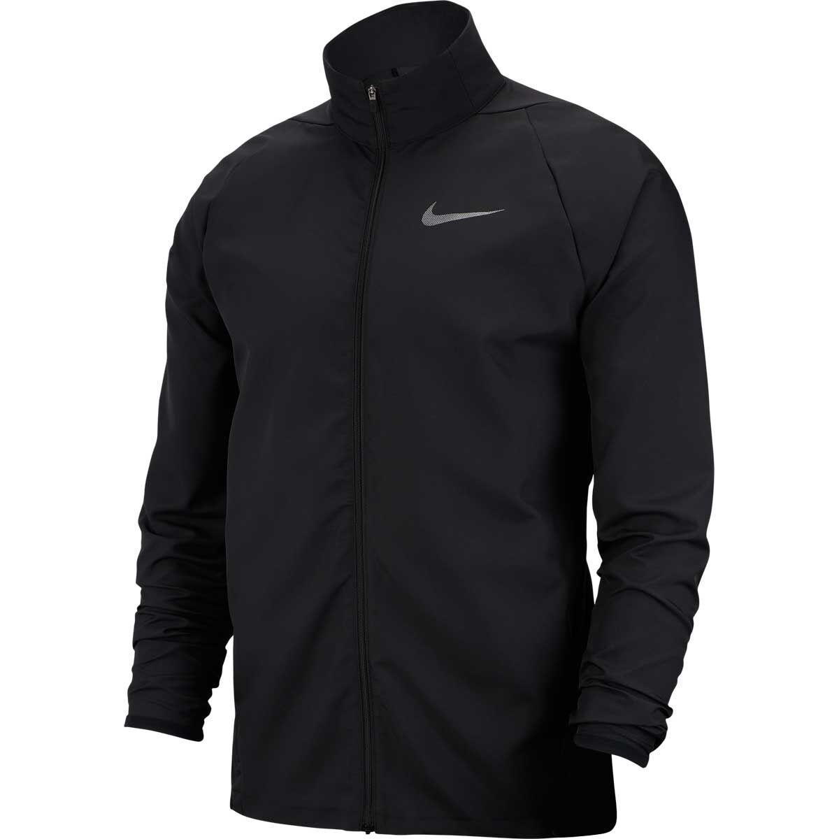 Nike Mens Dry Woven Training Jacket Black L