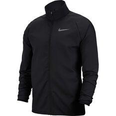 Nike Mens Dry Woven Training Jacket Black S, Black, rebel_hi-res