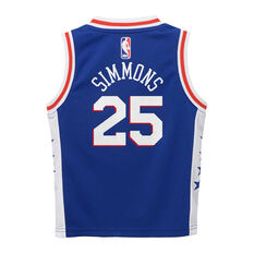 Nike Philadelphia 76ers Ben Simmons 2019/20 Infant Jersey Set Blue 4, Blue, rebel_hi-res