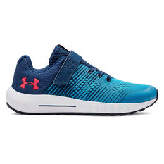 016d30d4738e Under Armour Pursuit NG Kids Running Shoes Blue   Navy US 11