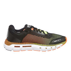 Under Armour HOVR Infinite Mens Running Shoes Black / Yellow US 7, Black / Yellow, rebel_hi-res