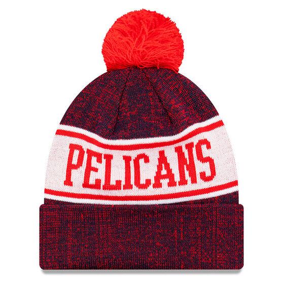 New Orleans Pelicans New Era Pom Knit Beanie, , rebel_hi-res