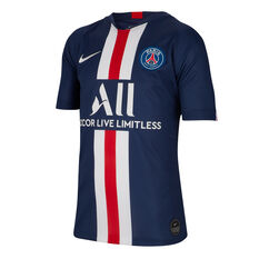 Paris Saint Germain FC 2019/20 Kids Home Jersey Navy S, Navy, rebel_hi-res