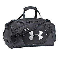 Under Armour Undeniable 3.0 Small Grip Bag Black / Silver, , rebel_hi-res