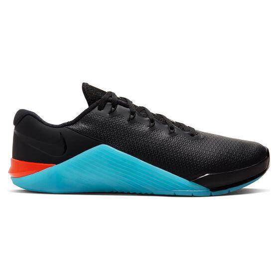 Nike Metcon 5 AMP Mens Training Shoes, Black/Pink, rebel_hi-res