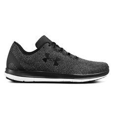 Under Armour Remix Mens Casual Shoes Black / Grey US 7, Black / Grey, rebel_hi-res
