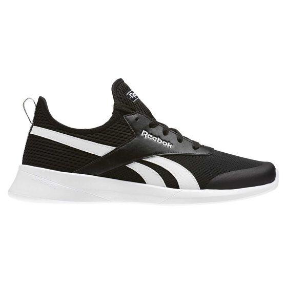 3f5ca655bcd2 Reebok Royal EC Ride Mens Casual Shoes Black   White US 9