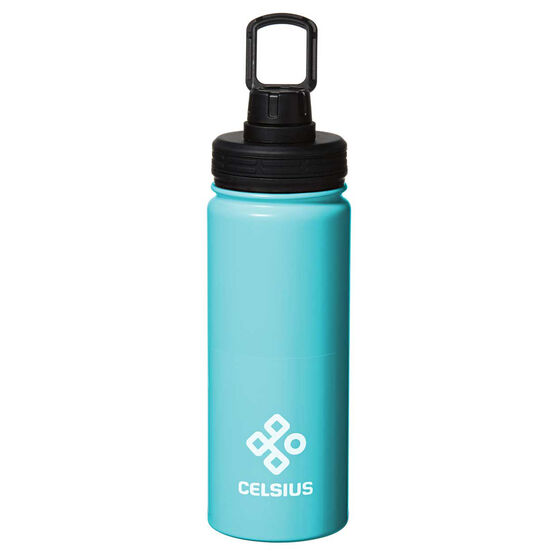 Celsius Stainless Insulated 530ml Water Bottle Blue 530mL, Blue, rebel_hi-res