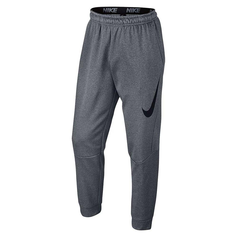 b5fa8b67b7fb Nike Mens Therma Training Pants Grey XXL Adult