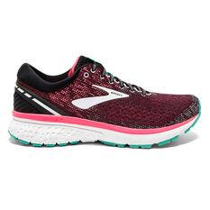 Brooks Ghost 11 Womens Running Shoes Black / Aqua US 6, Black / Aqua, rebel_hi-res