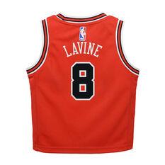 Nike Chicago Bulls Zach LaVine 2019/20 Infant Jersey Set Red 4, Red, rebel_hi-res