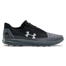 Under Armour Remix 2.0 Mens Casual Shoes Black / Grey US 7, Black / Grey, rebel_hi-res
