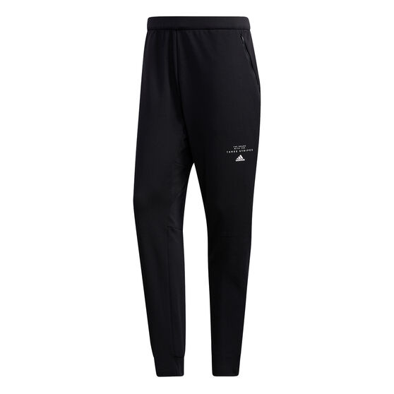 adidas Mens Must Haves AEROREADY Training Pants, Black, rebel_hi-res