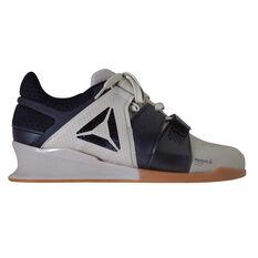 Reebok Legacy Lifter Mens Training Shoes Black / Beige US 7, Black / Beige, rebel_hi-res