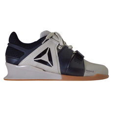 d844f88654f Reebok Legacy Lifter Mens Training Shoes Black   Beige US 7
