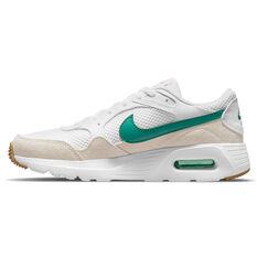 Nike Air Max SC Kids Casual Shoes White/Green US 4, White/Green, rebel_hi-res
