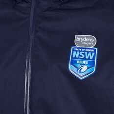 NSW State of Origin Mens Wet Weather Jacket Blue M, Blue, rebel_hi-res