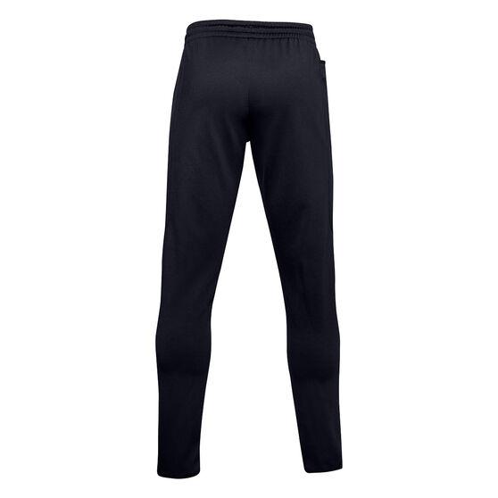 Under Armour Mens Volume Fleece Track Pants, Black, rebel_hi-res
