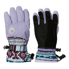 Rojo Womens Maximise Ski Gloves Purple / Black S, Purple / Black, rebel_hi-res