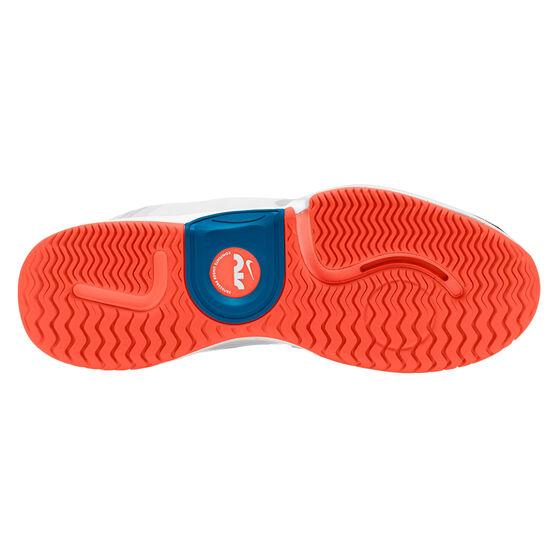 NikeCourt Air Zoom GP Turbo Hardcourt Mens Tennis Shoe, White/Green, rebel_hi-res