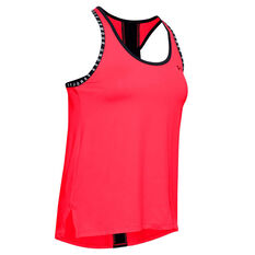 Under Armour Womens Knockout Tank Red XS, Red, rebel_hi-res