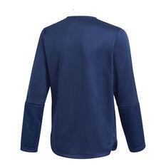 adidas Boys Tiro 21 Track Jacket Blue 6, Blue, rebel_hi-res