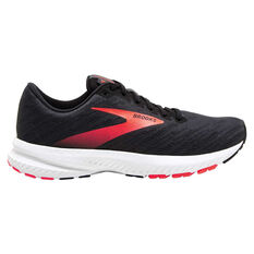 Brooks Launch 7 Womens Running Shoes Grey/Coral US 6, Grey/Coral, rebel_hi-res