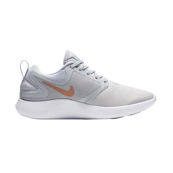 d90de67648e44 Nike LunarEpic Low Flyknit 2 Womens Running Shoes Black   White US ...
