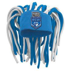 NSW Blues State of Origin 2019 Dreadlock Fun Hat, , rebel_hi-res
