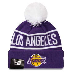 Los Angeles Lakers 2019 New Era Knits On Fire Beanie, , rebel_hi-res