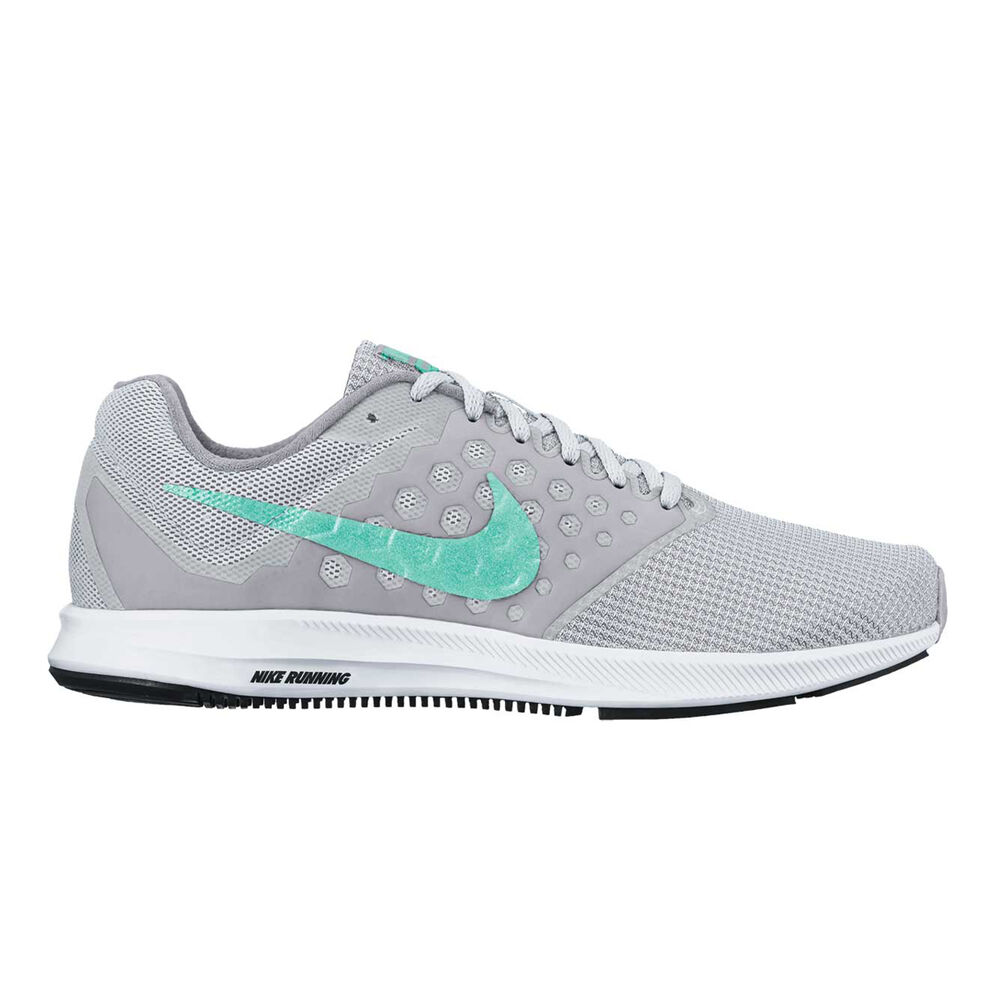 buy online 5316b 2ac9a Nike Downshifter 7 Womens Running Shoes Grey  Turquoise US 6.5, Grey   Turquoise,