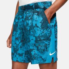 NikeCourt Mens Dri-FIT Tennis Shorts, Green, rebel_hi-res