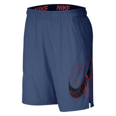 Nike Mens Flex Woven Training Shorts Navy S, Navy, rebel_hi-res