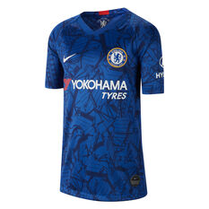 Chelsea FC 2019/20 Kids Home Jersey Blue S, Blue, rebel_hi-res