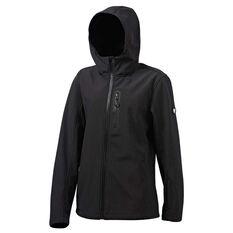 Tahwalhi Mens Panorama Soft Shell Jacket Black S, Black, rebel_hi-res