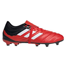 adidas Copa Gloro 20.2 Football Boots Red / White US Mens 5 / Womens 6, Red / White, rebel_hi-res