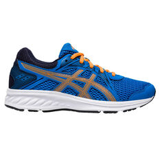 Asics Jolt 2 Kids Running Shoes Blue/Orange US 4, Blue/Orange, rebel_hi-res