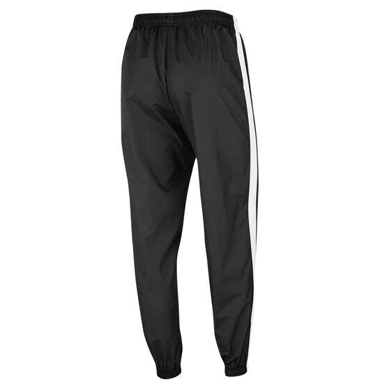Nike Womens Sportswear Woven Track Pants, Black, rebel_hi-res