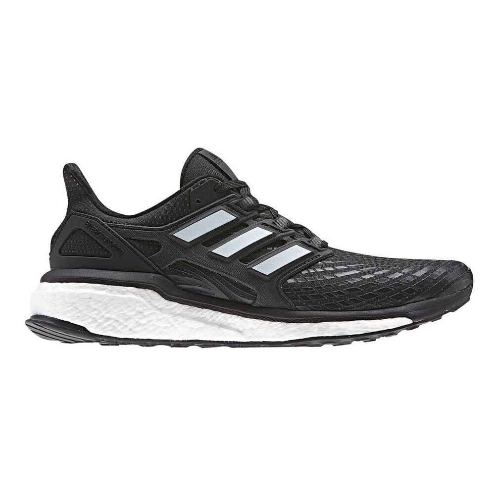 info for effdb ccd1e adidas Energy Boost Womens Running Shoes Black  White US 9, Black  White,