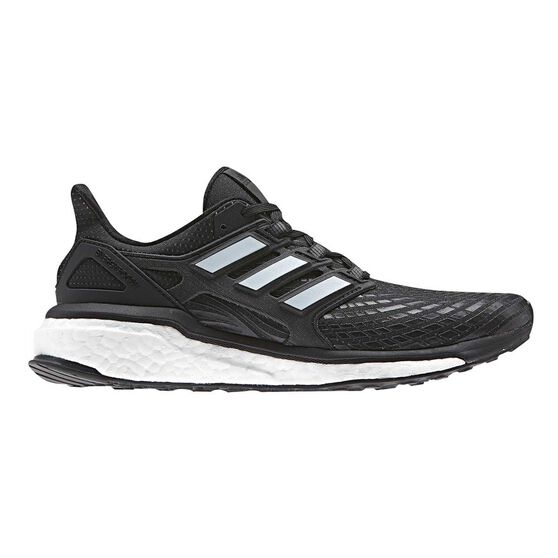 more photos c0176 433f7 adidas Energy Boost Womens Running Shoes Black  White US 6, Black  White,