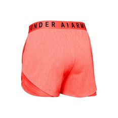 Under Armour Womens Play Up 3.0 Twist Shorts Orange XS, Orange, rebel_hi-res