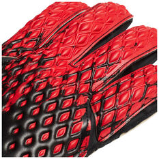 adidas Predator 20 Match Goalkeeping Gloves with Fingersaves, Black / Red, rebel_hi-res