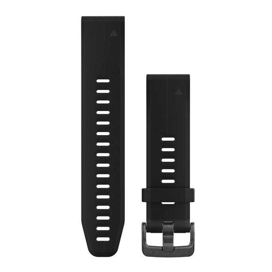 Garmin QuickFit 20mm Adjustable Silicone Watch Band, , rebel_hi-res